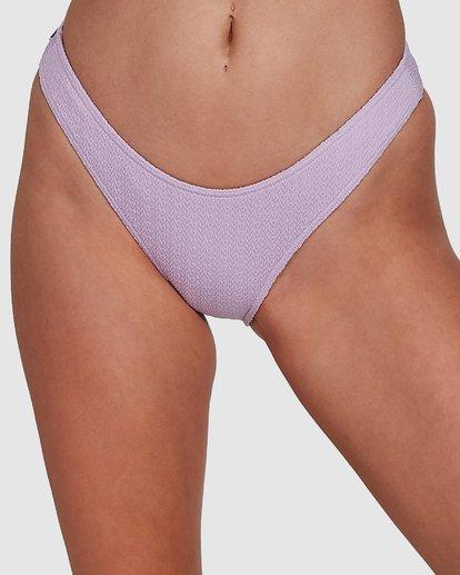 3 Braid Rib Hike Bikini Bottoms Purple 6507678M Billabong