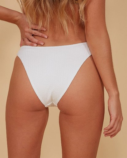 2 Braid Rib Hike Bikini Bottoms White 6507678M Billabong