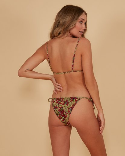 1 Sunbaked Skinny Biarritz Bikini Bottoms Red 6507683M Billabong