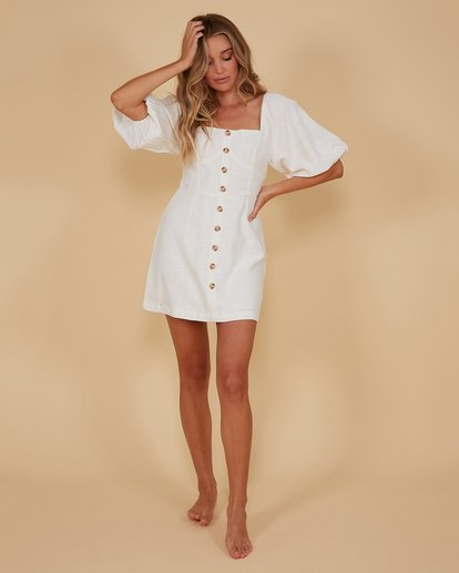 5 White Sand Dress White 6507693M Billabong