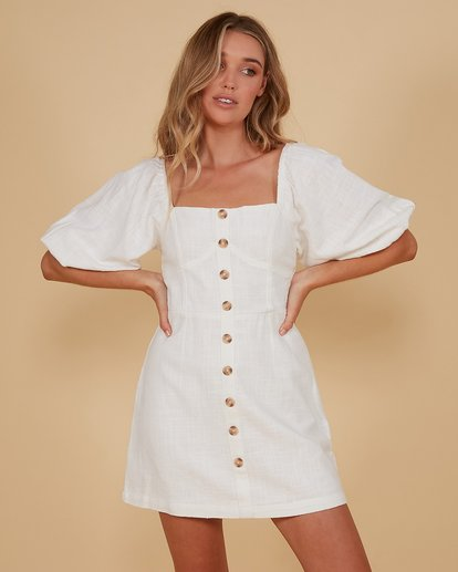 1 White Sand Dress White 6507693M Billabong