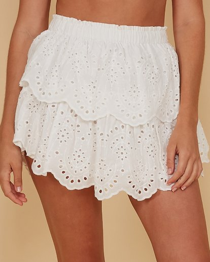 4 White Sand Skirt White 6507697M Billabong
