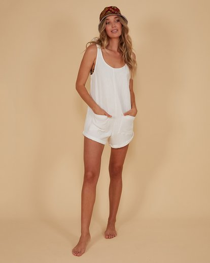 5 Kauai Playsuit White 6507698M Billabong