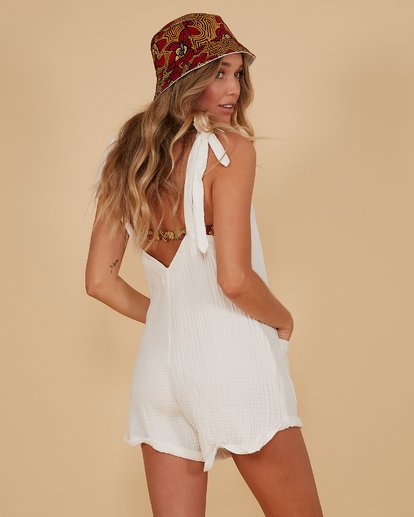 3 Kauai Playsuit White 6507698M Billabong