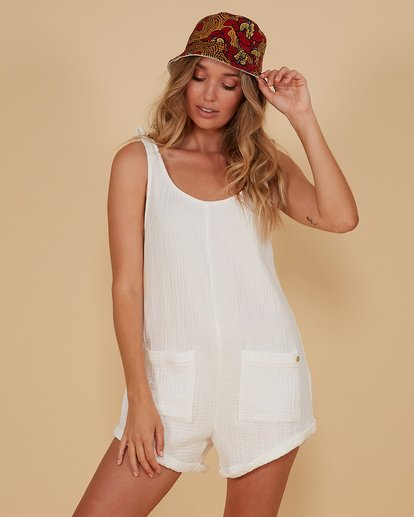 1 Kauai Playsuit White 6507698M Billabong