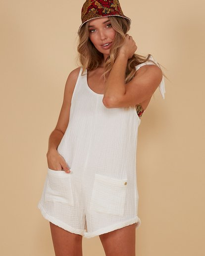 0 Kauai Playsuit White 6507698M Billabong
