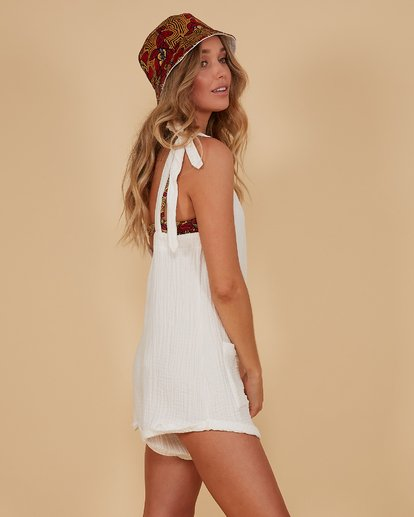 2 Kauai Playsuit White 6507698M Billabong