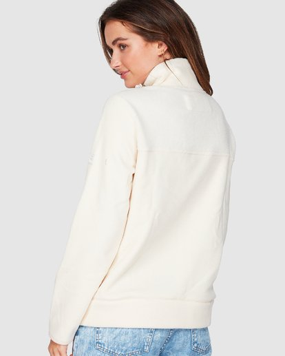 2 Boundary Mock Half Zip White 6507740 Billabong