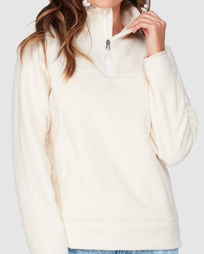 3 Boundary Mock Half Zip White 6507740 Billabong