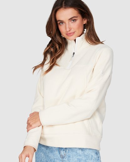 0 Boundary Mock Half Zip White 6507740 Billabong