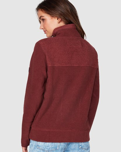 2 Boundary Mock Half Zip Purple 6507740 Billabong