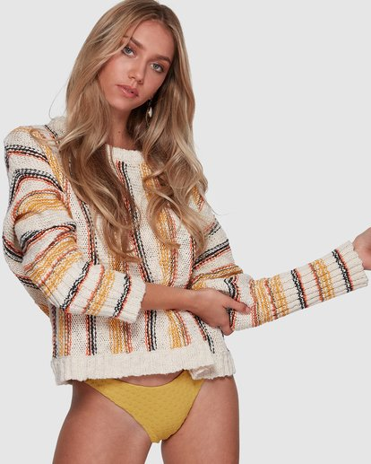 1 Easy Going Sweater White 6507790 Billabong
