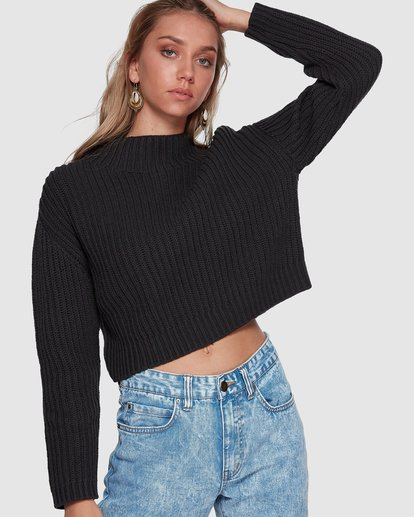 0 Bright Life Sweater Black 6507796 Billabong