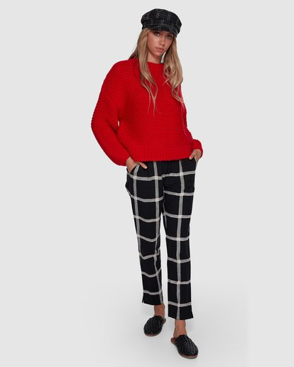 7 I See You Sweater Red 6507800 Billabong