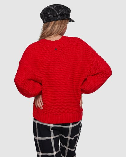 4 I See You Sweater Red 6507800 Billabong