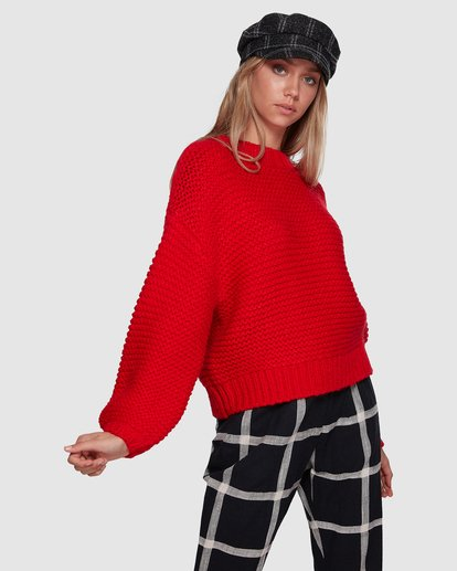 2 I See You Sweater Red 6507800 Billabong