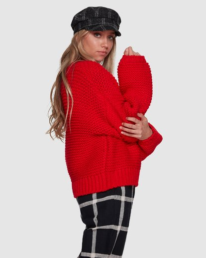 3 I See You Sweater Red 6507800 Billabong