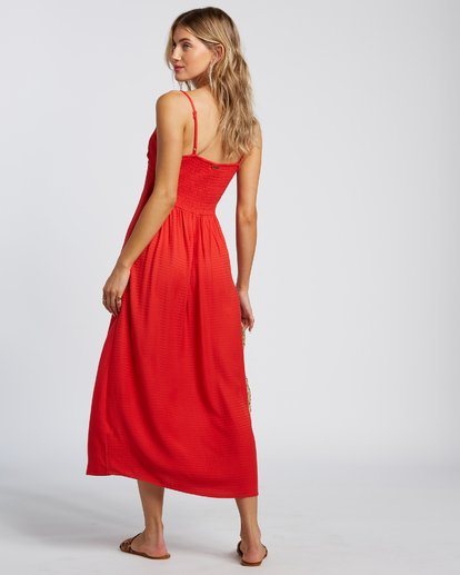 2 Sugared Life Dress Red 6507805X Billabong