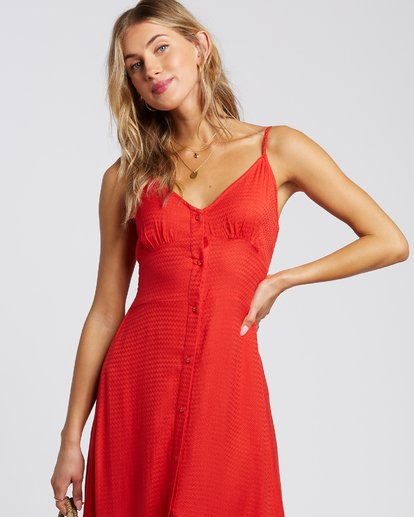 3 Sugared Life Dress Red 6507805X Billabong