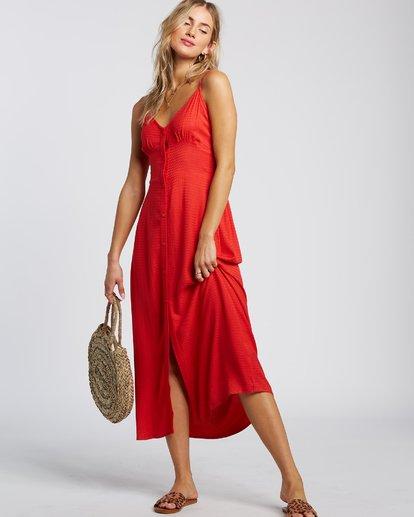 1 Sugared Life Dress Red 6507805X Billabong