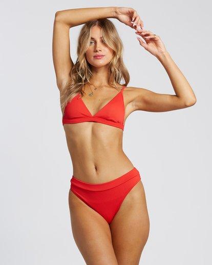 2 For The Love Of Maui Bikini Bottoms Red 6507807X Billabong