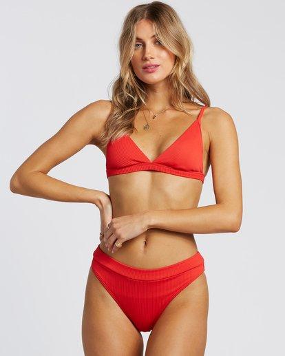 5 For The Love Of Maui Bikini Bottoms Red 6507807X Billabong
