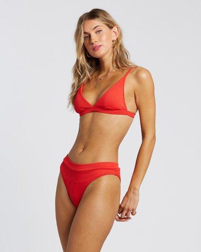 3 For The Love Of Maui Bikini Bottoms Red 6507807X Billabong