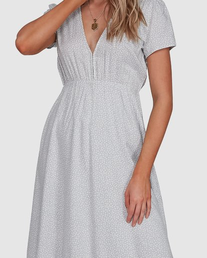 4 Blue Bayou Midi Dress Blue 6507816X Billabong