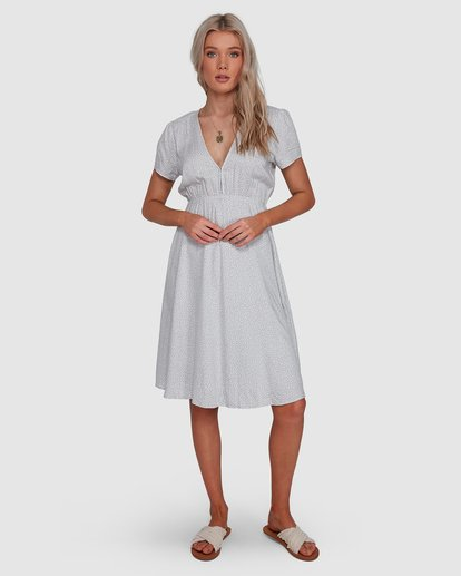 1 Blue Bayou Midi Dress Blue 6507816X Billabong