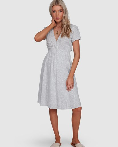 0 Blue Bayou Midi Dress Blue 6507816X Billabong