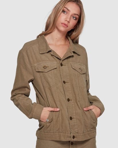 1 Bad Habits Jacket Green 6507891 Billabong