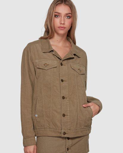 0 Bad Habits Jacket Green 6507891 Billabong