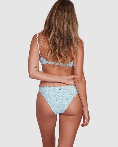 6 Bluesday Tropic Bikini Bottoms Blue 6507919M Billabong