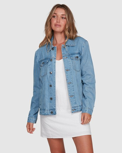 1 Salty Water Jacket Blue 6507933X Billabong