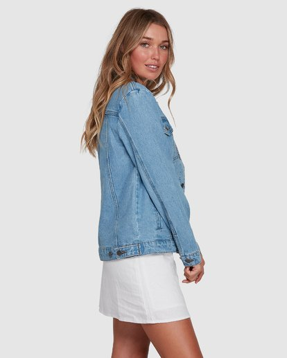 2 Salty Water Jacket Blue 6507933X Billabong