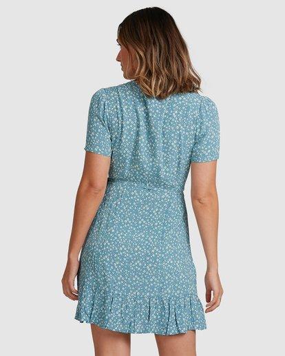 2 Bluesday Wrap Dress Blue 6507938M Billabong