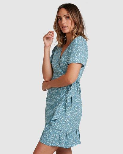1 Bluesday Wrap Dress Blue 6507938M Billabong