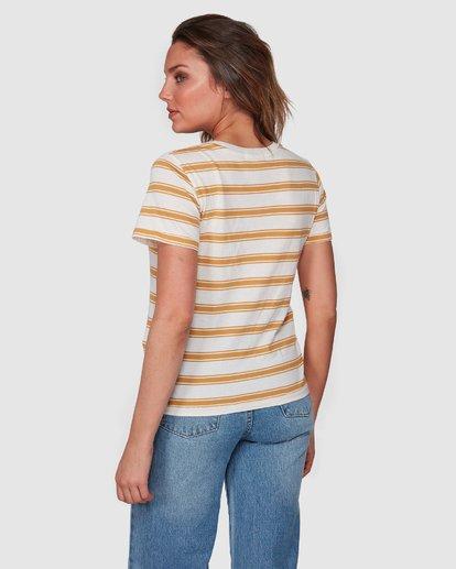 3 New Soul Babe Short Sleeve Tee Yellow 6508004 Billabong