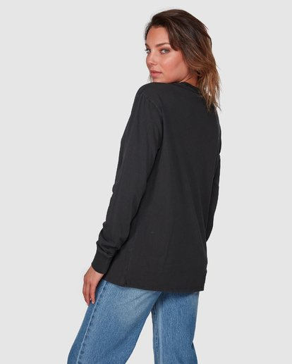 3 Esplanade Long Sleeve Tee Black 6508071 Billabong