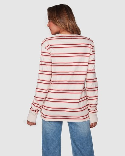 3 Luca Long Sleeve Tee Beige 6508072 Billabong