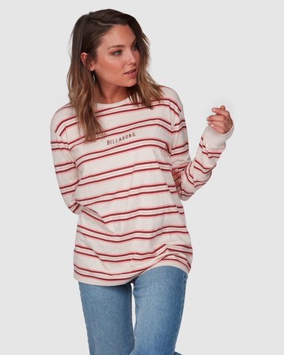 1 Luca Long Sleeve Tee Beige 6508072 Billabong