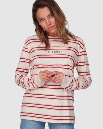 0 Luca Long Sleeve Tee Beige 6508072 Billabong
