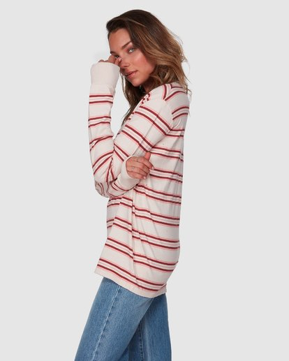 2 Luca Long Sleeve Tee Beige 6508072 Billabong