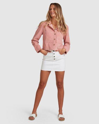 6 Tell Me Shirt Pink 6508093 Billabong