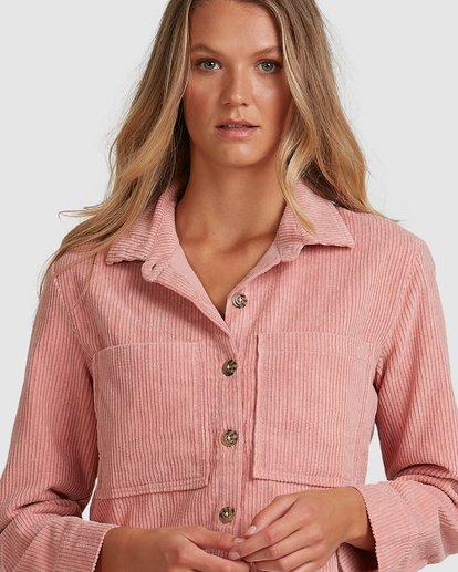 4 Tell Me Shirt Pink 6508093 Billabong