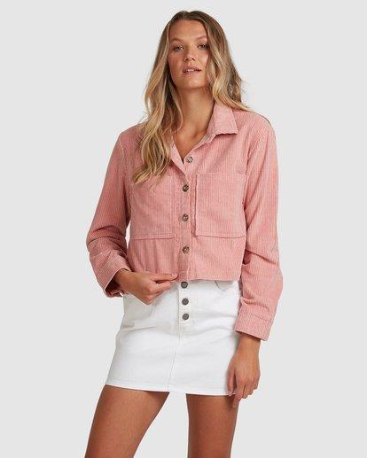 1 Tell Me Shirt Pink 6508093 Billabong