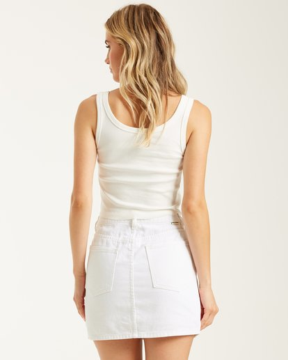 2 Tres Cool Tank White 6508192 Billabong