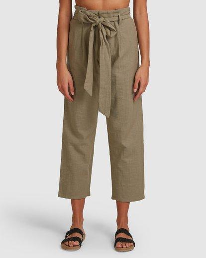 3 Sand Stand Pants Green 6508404 Billabong