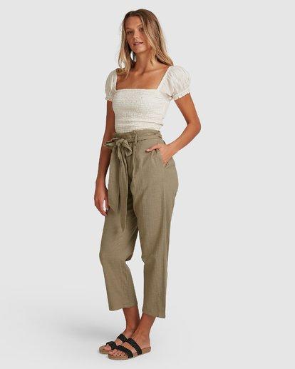 1 Sand Stand Pants Green 6508404 Billabong
