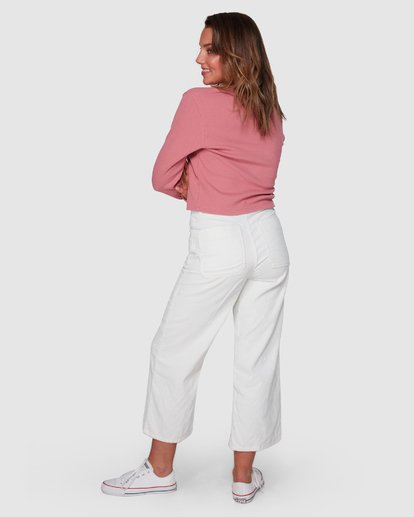 3 Salty Beach Pant White 6508414 Billabong